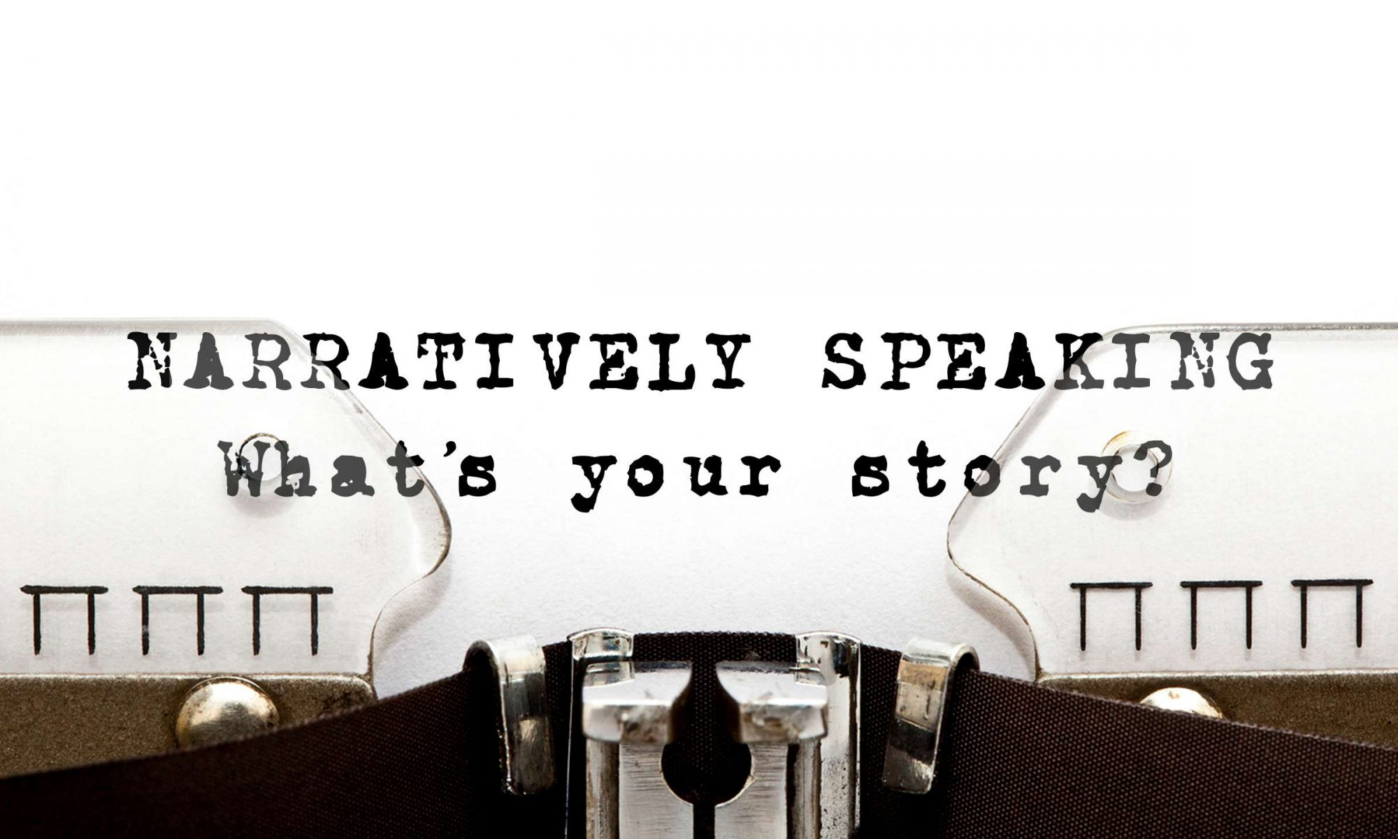 Narratively Speaking